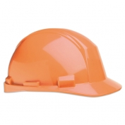 North A89R Matterhorn ANSI Type II Hard Hat - Ratchet Suspension - Orange