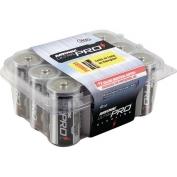 Alkaline C Size Reclosable 12 Pack Batteries