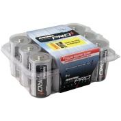 Alkaline D Size Reclosable 12 Pack Batteries