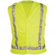 OK-1 ANSI Class 2 Lime Mesh 5 Pt. Tear Away Safety Vest