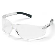 Crews BK110 BearKat Safety Glasses - Clear Temples - Clear Ballistic Lens