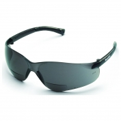 Crews BearKat Safety Glasses - Gray Temples - Gray Bifocal Lens