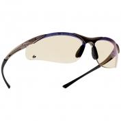 Bolle 40047 Contour Safety Glasses - Dark Gunmetal Frame - ESP Lens