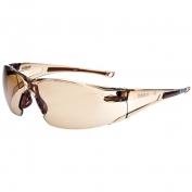 Bolle 40072 Rush Safety Glasses - Twilight Temples - Twilight Anti-Fog Lens