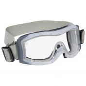 Bolle 40097 Duo Goggles - Clear/Grey Frame - Clear Anti-Fog Lens