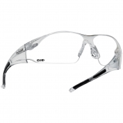 Bolle 40113 Rush Safety Glasses - Clear HD - Hydrophobic Lens
