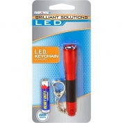 Brilliant Solutions Mini Flashlight LED Keychain