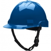 Bullard A1BLS Advent A1 Type II Hard Hat - Ratchet Suspension - Blue