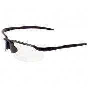 Bullhead BH1061R Swordfish Safety Glasses - Black Frame - Clear Bifocal Lens