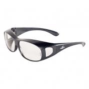 Bullhead BH291 Over Glass Safety Glasses - Gray Frame - Clear Lens