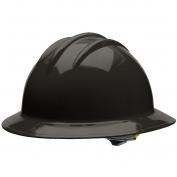Bullard C33BKR Classic Full Brim Hard Hat - Ratchet Suspension - Black