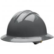 Bullard C33DGR Classic Full Brim Hard Hat - Ratchet Suspension - Dove Grey