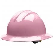 Bullard C33LPR Classic Full Brim Hard Hat - Ratchet Suspension - Light Pink