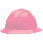 Bullard C34LPR Classic Full Brim Hard Hat - Ratchet Suspension - Light Pink