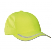 Port Authority C836 Enhanced Visibility Cap - Safety Yellow/Reflective