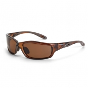 CrossFire Infinity Safety Glasses - Brown Frame - Brown Polarized Lens