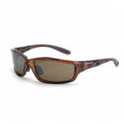 CrossFire Infinity Safety Glasses - Brown Frame - Brown Mirror Lens
