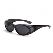 CrossFire OG3 Safety Glasses - Smoke Lens - Fits Small to Medium Glasses