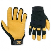 CLC Hybrid Gloves - Top Grain Deerskin Palm Gloves