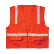 CLC SV15 Economy Non ANSI Surveyor Safety Vest - Orange