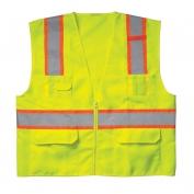CLC SV22 Class 2 Surveyor Safety Vest - Yellow/Lime