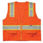 CLC SV23 Class 2 Surveyor Safety Vest - Orange