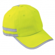CornerStone CS801 ANSI 107 Safety Cap - Yellow/Lime