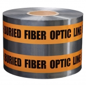 CAUTION BURIED FIBER OPTIC - Detectable Underground Warning Tape