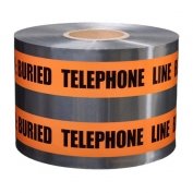 CAUTION BURIED TELEPHONE LINE - Detectable Underground Warning Tape