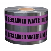 CAUTION BURIED RECLAIMED WATER LINE BELOW - Detectable Underground Warning Tape
