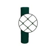 Resinet Diamond Crowd Control Fence - Green - 4 ft x 100 ft