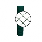 Resinet Diamond Crowd Control Fence - Green - 4 ft x 50 ft