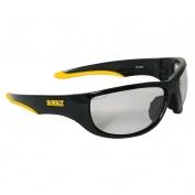 DeWalt DPG94-9 Dominator Safety Glasses - Black Frame - Indoor/Outdoor Mirror Lens