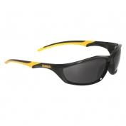 DeWalt DPG96-2 Router Safety Glasses - Black/Yellow Frame - Smoke Lens