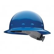 Fibre Metal E1RW Full Brim Hard Hat - Ratchet Suspension - Blue