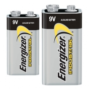 Industrial Energizer 9V Batteries 12-pack