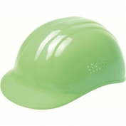 ERB 19125 Vented 4-Point Suspension Bump Cap - Hi-Viz Lime