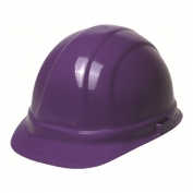 ERB 19128 Omega II Hard Hat - 6-Point Pinlock Suspension - Purple