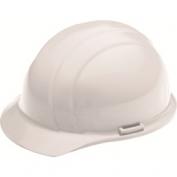 ERB 19761 Americana Hard Hat - 4-Point Pinlock Suspension - White