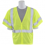 ERB S662 Class 3 Mesh Safety Vest - Yellow/Lime