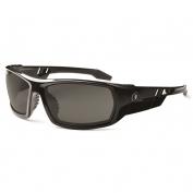 Ergodyne Odin 50031 Safety Glasses - Black Frame - Smoke Polarized Lens