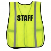 Ergodyne Pre-Printed STAFF Safety Vest - Yellow/Lime