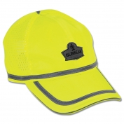 Ergodyne GloWear 8930 Hi-Vis Baseball Cap - Yellow/Lime