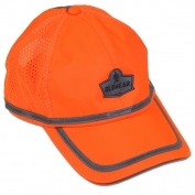 Ergodyne GloWear 8930 Hi-Vis Baseball Cap - Orange