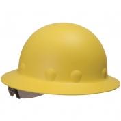 Fibre Metal P1ARW Full Brim Roughneck Hard Hat - Ratchet Suspension - Yellow