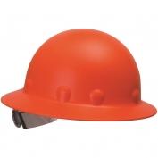 Fibre Metal P1ARW Full Brim Roughneck Hard Hat - Ratchet Suspension - Hi-Viz Orange