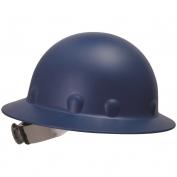 Fibre Metal P1ARW Full Brim Roughneck Hard Hat - Ratchet Suspension - Blue