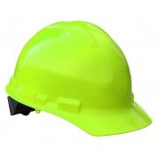 Radians GHP6 Granite Hard Hat - 6-Point Pinlock Suspension - Hi-Viz Green