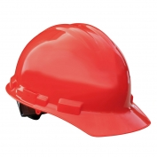 Radians GHP6 Granite Hard Hat - 6-Point Pinlock Suspension - Red