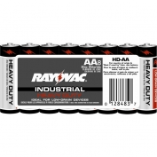 Rayovac Heavy Duty Industrial Size AA Batteries 8 Pack